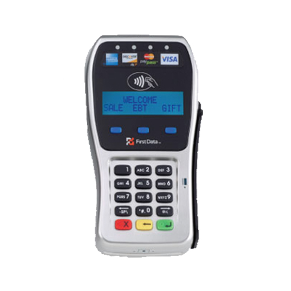 FD35<br>This comprehensive device accepts PIN and signature debit cards, all major credit cards, gift and EBT cards, and STAR® Network transactions.