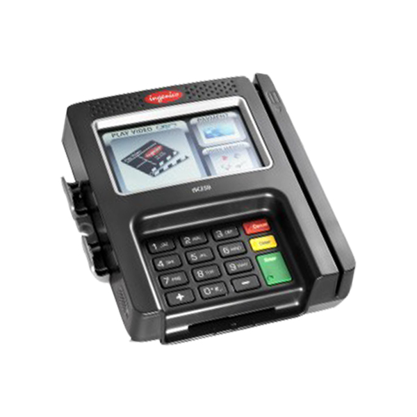 ISC 250<br>With integrated multimedia-enabled Telium 2 architecture and multiple connectivity options, the iSC Touch 250 solution accepts all existing forms of payment